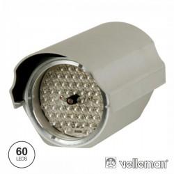 Projector Ir 60 Leds 12V Alcance 45M Ip66 Velleman
