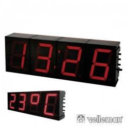 Relógio Digital 7 Segmentos 57mm Velleman