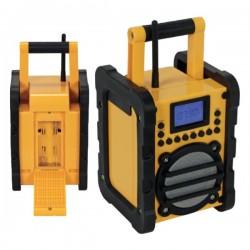 Rádio de Trabalho Pll Ultra Resistente Bluetooth 7W