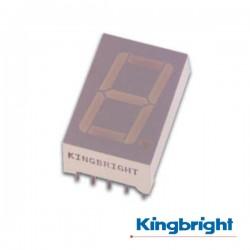 Display 1 Dígito 10mm Anodo Comum Vermelho Kingbright