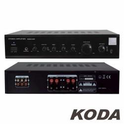 Amplificador Stereo Hifi 2X180W 3 Entradas Preto Koda