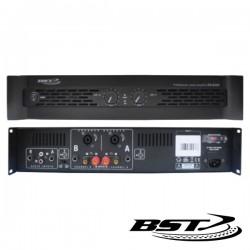 Amplificador Áudio Analógico Pro 2X600W Bst