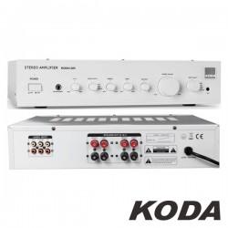 Amplificador Stereo Hifi 2X180W 3 Entradas Branco Koda
