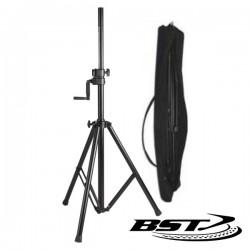 Suporte Colunas 140-220cm 35mm Mecanismo Carreto 80Kg Bst