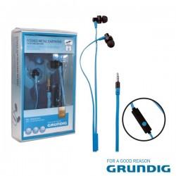 Auscultadores Stereo c/ Fios Microfone Grundig