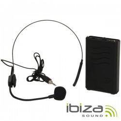 Microfone Headset S/ Fios 203.5Mhz Ibiza