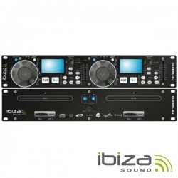 Leitor Cd/Usb/Sd Duplo Scratch Ibiza