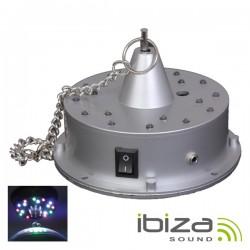 Motor p/ Bola de Espelhos c/ 12 Leds A Pilhas Ibiza
