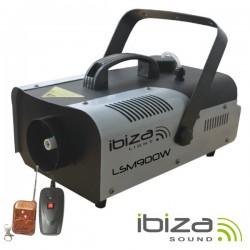 Máquina de Fumos 900W Controlador/Comando Ibiza