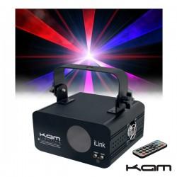 Laser Multicor (Rbp) Dmx Com Comando Kam