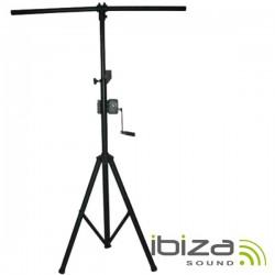 Suporte p/ Luzes c/ Manivela 140-290cm 60Kg - Ibiza