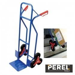 Carrinho p/ Transporte Em Escadas c/ 6 Rodas Perel