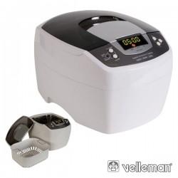 Equipamento de Limpeza Ultrasónico 2L c/ Timer Velleman