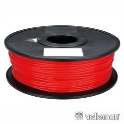 Rolo de Filamento p/ Impressão 3D 1.75mm 1Kg Vermelho