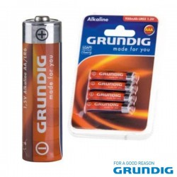 Pilha Alcalina Lr03/AAA 1.5V 4X Blister Grundig