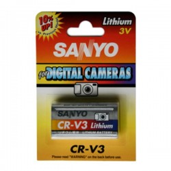 Pilha Lithium Crv3 3V 3100Ma Sanyo
