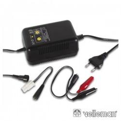 Carregador de Baterias p/ Modelismo Ni-Mh E Nicd