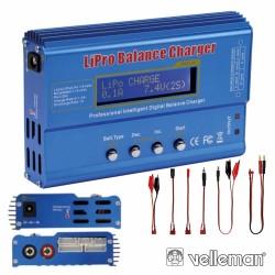 Carregador de Baterias Li-Ion Polymer Nicd Nimh - Velleman
