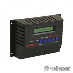 Regulador Painel Fotovoltáico 30 Amp 12/24V Velleman