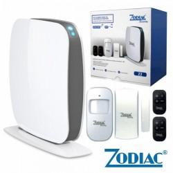 Kit Alarme S/Fios c/Sensores E Comando Gsm/Sms Zodiac