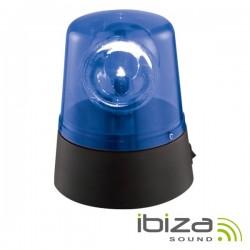Pirilampo Leds Rotativo 360º Azul Ibiza