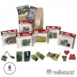 Conjunto 6 Mini-Kit Velleman
