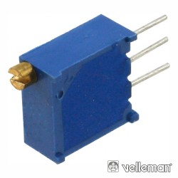 Potenciómetro Ajustável Multi-Volta Cermet 1K