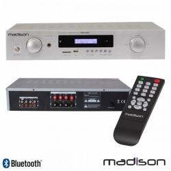 Amplificador Stereo Hifi 2X180W 3 Entradas Usb/Bt/Fm Madison