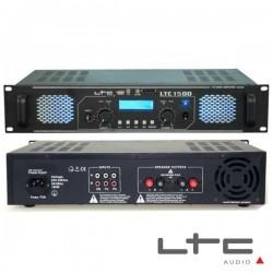 Amplificador Áudio 2X750W c/ Leds/Eq/Usb/Sd Ltc