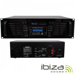 Amplificador Áudio 2X800W Usb/Bt Ibiza