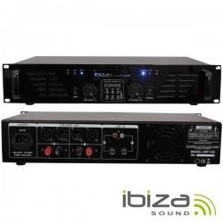Amplificador Áudio 2X240W Usb/Bt Ibiza