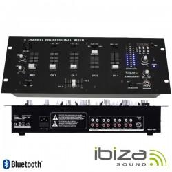 Mesa de Mistura 5 Canais 9 Entradas Usb/Bt/Sd Ibiza