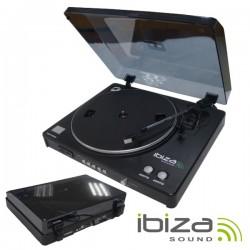 Gira-Discos 33/45Rpm c/ Usb/Rec/Sd Software Audacity - IBIZA