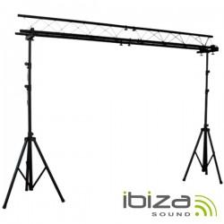 Suporte p/ Luzes 2 Barras 1.5-3M 12 Aparelhos Ibiza