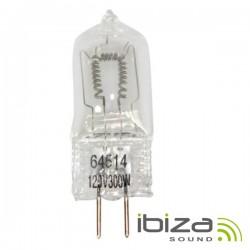 Lâmpada G6.35 300W 120V Halogéneo p/ Projectores Ibiza