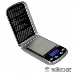 Mini Balança 500G / 0.1G - Velleman