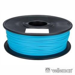 Rolo de Filamento p/ Impressão 3D 1.75mm 1Kg Azul Claro