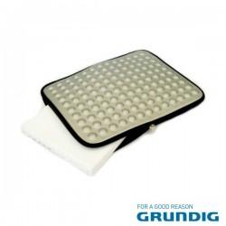 """Bolsa Laptop/Tablet 15.4"""" Bolhas Cinza Grundig"""