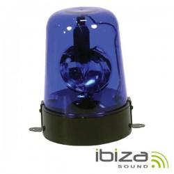 Pirilampo Lâmpada E14 Rotativo 360º Azul 230V 15W Ibiza