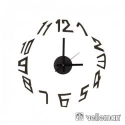 Relógio de Parede Auto-Colante Faça-Voçê-Mesmo