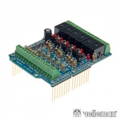 In/Out Shield Para Arduino Velleman