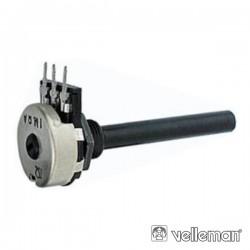 Potenciómetro Logarítmico 4K7 Metálico