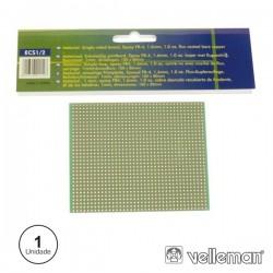 Placa Circuito Impresso Perfurada Em Pontos 100X80mm