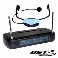 Central Microfone S/Fios 1 Canal Uhf 630.2Mhz