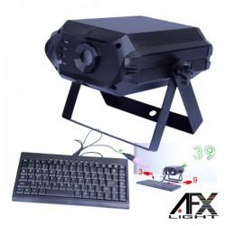 Laser 300Mw Rgb c/ Teclado E Adptador Afxlight