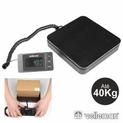 Balança Postal c/ Visor Digital 40Kg / 5G Velleman