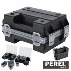 "Caixa Organizadora 7"" c/ 10 Compartimentos Dupla Perel"