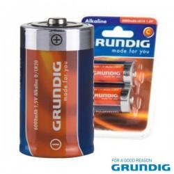 Pilha Alcalina Lr20/D 1.5V Blister (2 Pcs) Grundig