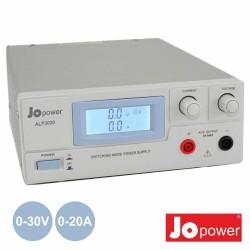 Fonte de Alimentação Digital 0-30V / 0-20A Jopower