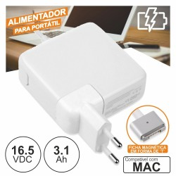 Alimentador p/ Mac 16.5V 3.1A 60W